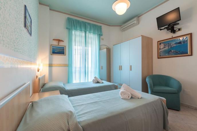 Camera hotel3stelle con Tv-Aria Condizionata-Balcone a Palinuro