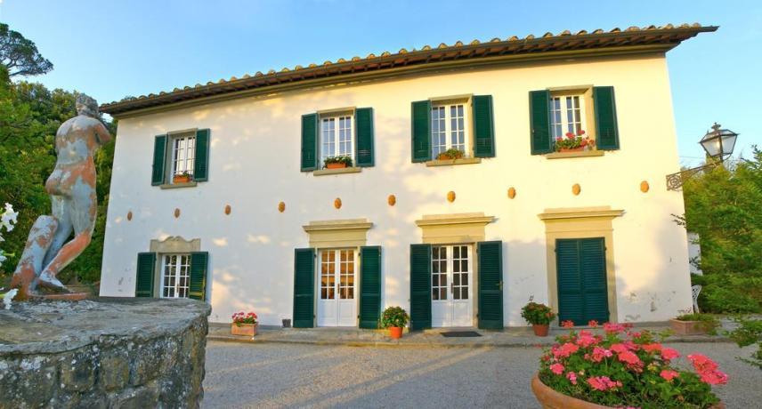 Villa vicino Cortona appartamenti romantici