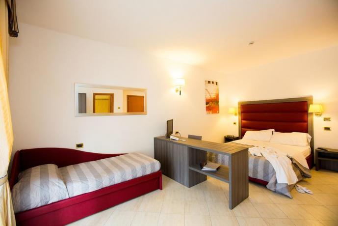 Hotel Umbria con camera matrimoniale + letto singolo