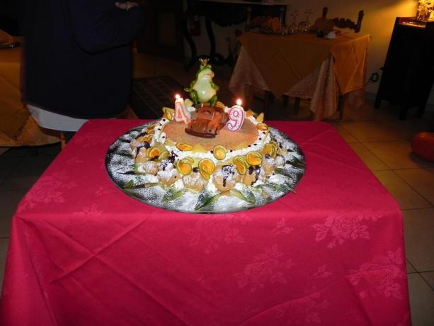 Torta compleanno hotel a Chiusi