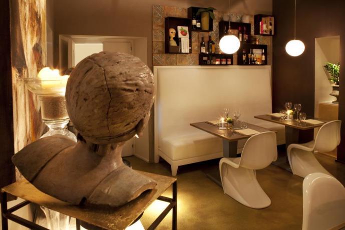 Ristorante interno Hotel 4 stelle a Montefalco