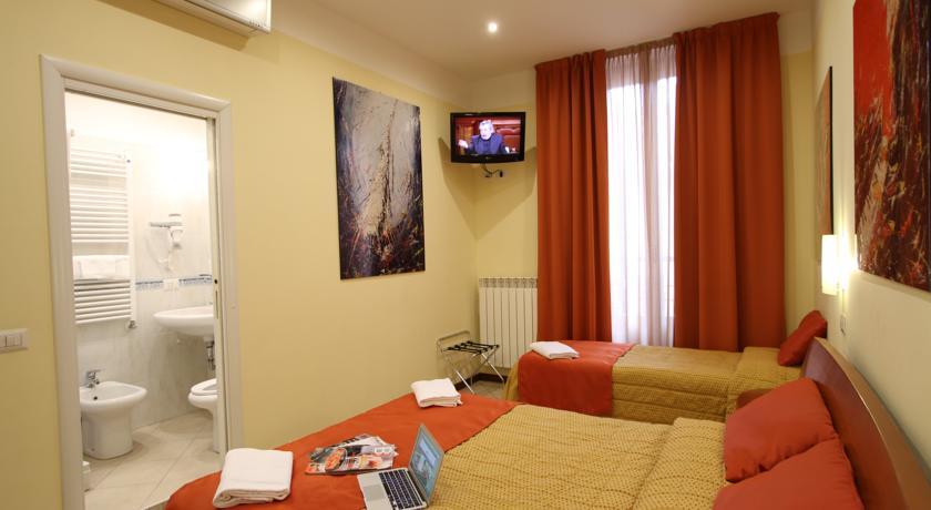 Camera tripla hotel a Milano centro