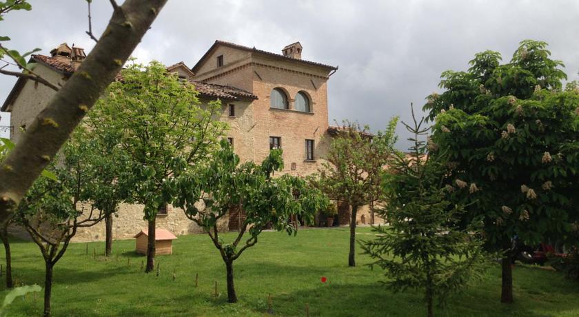 Vista giardino B&B Umbria Città di castello