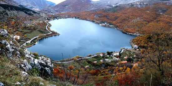 Veduta Lago di Scanno