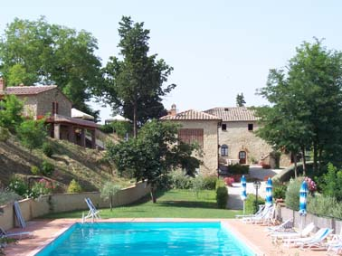 Hotel with Swimmingpool in Tuscany, Volterra