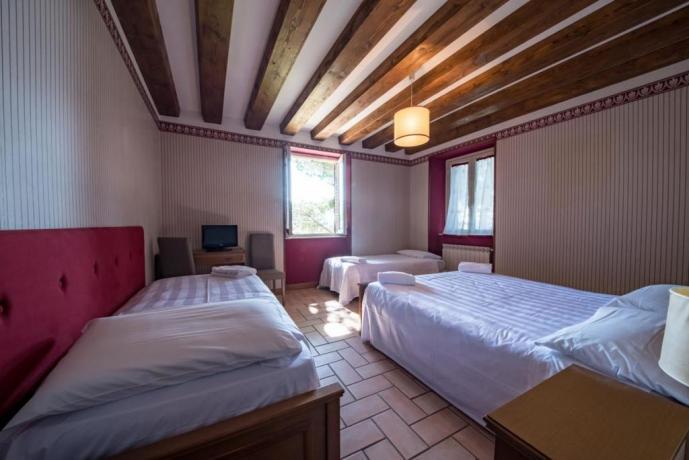 camera dell'appartamento perla