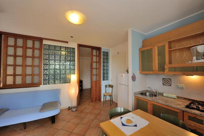 Appartamento 4persone con Divano-Letto 2 posti