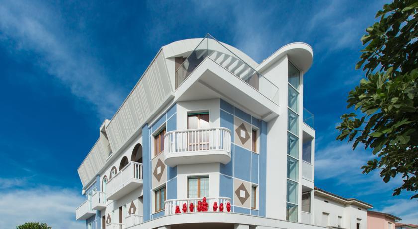 Hotel fronte mare Camere con balcone panoramico