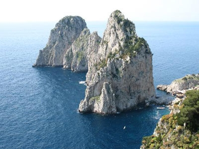 Capri and the seacliffs