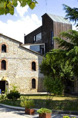 esterno del Residence a Perugia vicino Silvestrini