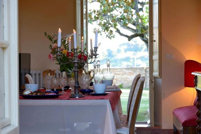 Villa Perugia con soggiorno servizio colazione