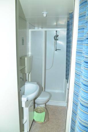 Bagno privato in Hotel a Palinuro