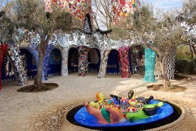 Sculptures and art of Niki de Saint Phalle