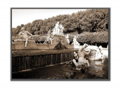 Fountain of Ceres, palace of Caserta