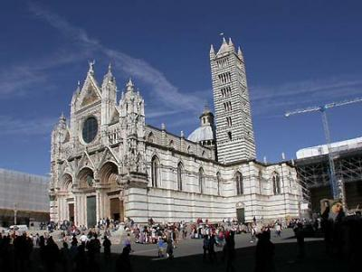 Visit the Cathedral of Siena in Tuscany