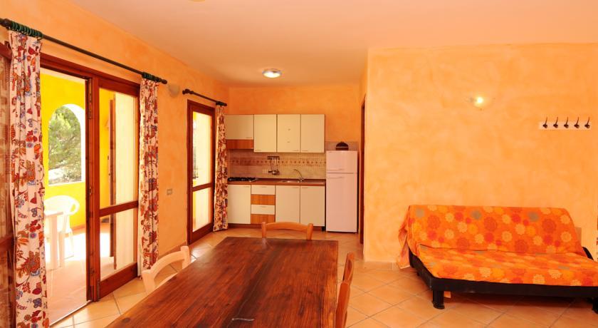 angolo-cottura soggiorno residence appartamenti Vignola Mare