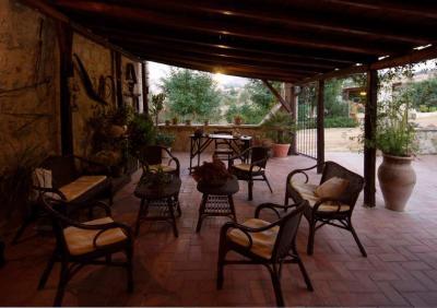 zona relax esterna per gli ospiti