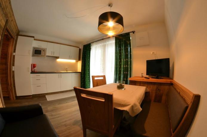 Appartamenti con angolo cucina e balcone a S.Vigilio
