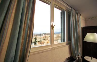 Hotel con vista panoramica su perugia