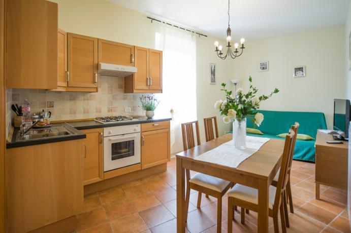 Appartamento trilocale 4 o 5 pax residence Ronciglione