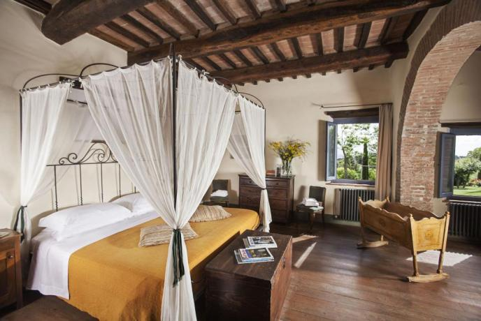 Suite Villa Montepulciano con Letto King Superior Size