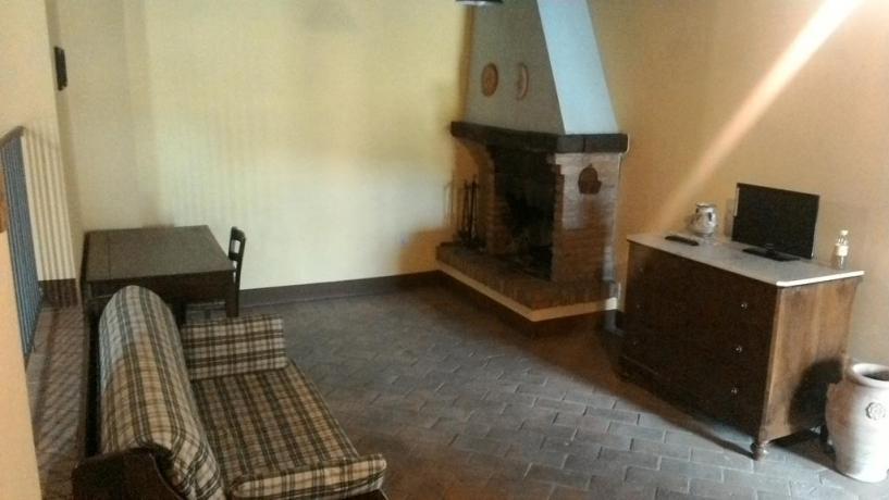 Appartamenti in Umbria con Camino
