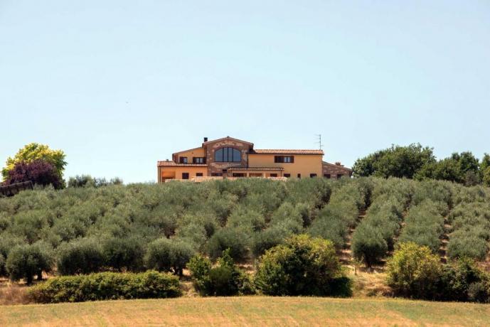 B&B vicino Perugia con vista Panoramica
