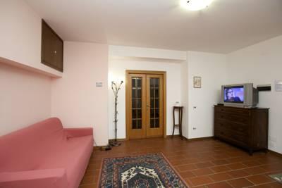Soggiorno Appartamento Vacanza La Lavanda Assisi