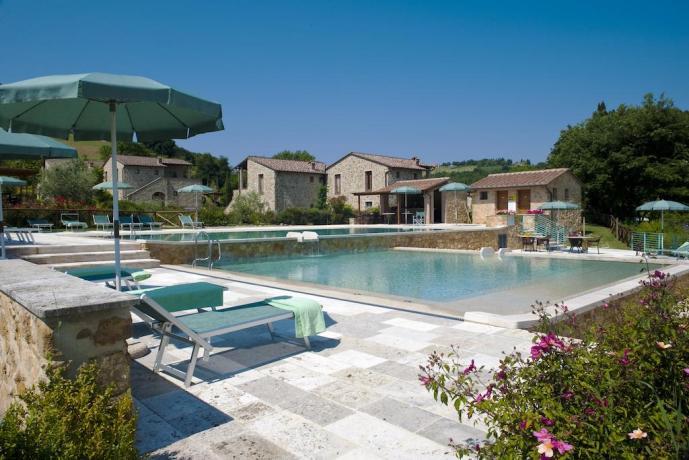 Residence in Toscana con Piscina per Bambini