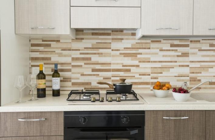 Cucina attrezzata appartamento-vacanze romantic San-Vito-lo-Capo