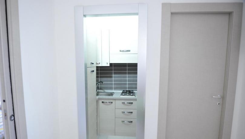 Appartamento con angola cottura completo resort Baia Domizia