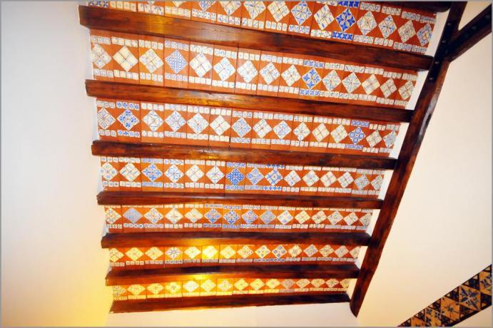 """Hotel Sicilia , """"Stanza delle Ceramiche Azzurre"""" (303)"""