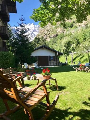 Giardino privato per ospiti Hotel L&M
