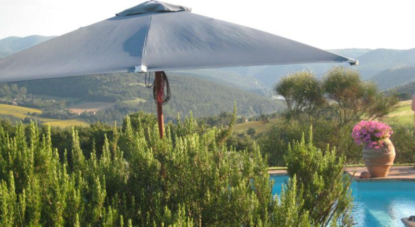 Relais con Piscina panoramica a Todi Umbria