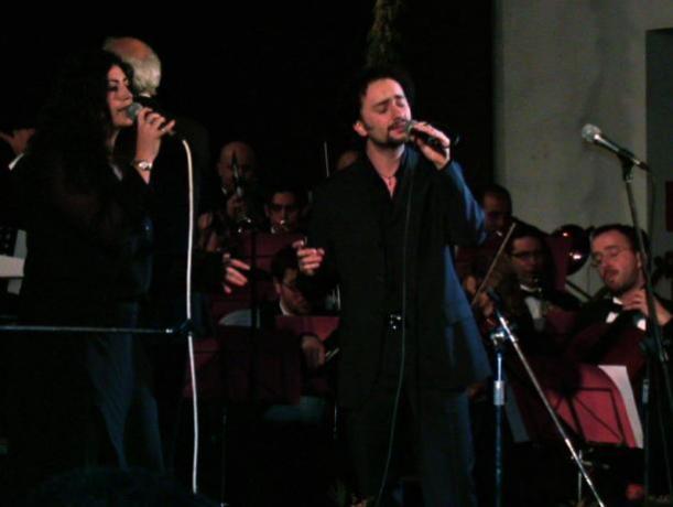 Insegnante di canto d'eccellenza: Fabio-Lepore con Dionne-Warwick