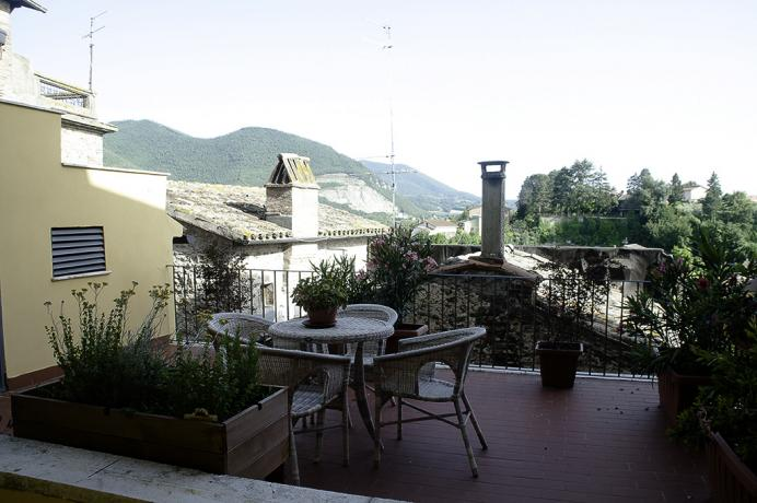 Bed and Breakfast con Terrazza Panoramica ad Acquasparta