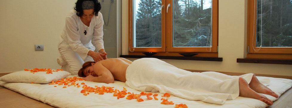 massaggi al centro benessere di trento