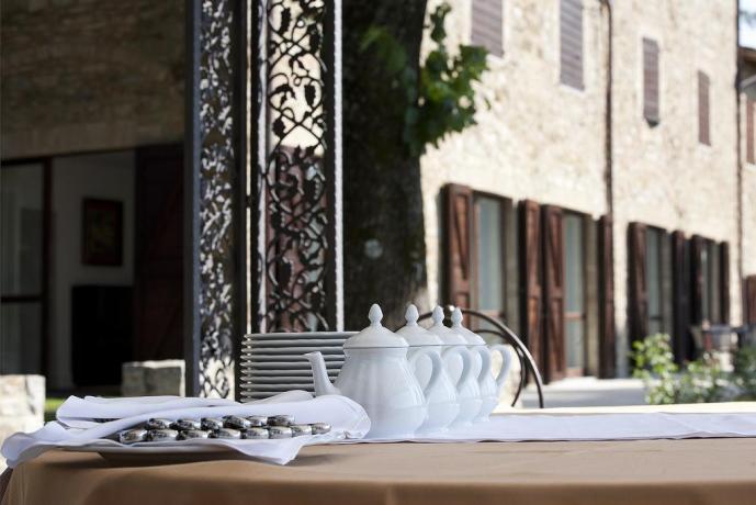 Ristorante Esterno per Matrimoni Ricevimenti Umbria Resort