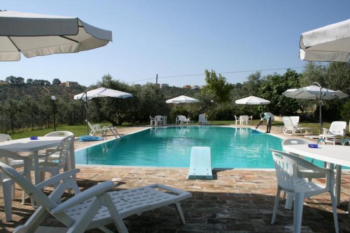 Agriturismo con piscina a Penne-Abruzzo