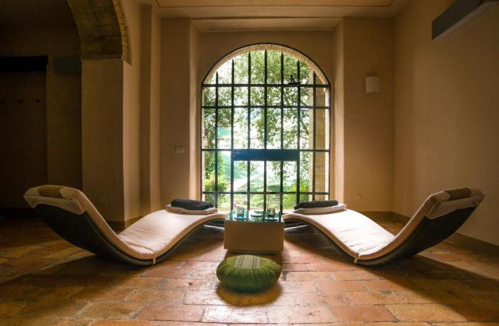 Area benessere - private spa