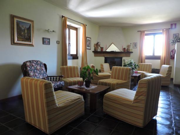 Salotto Relax con divanetti a Valle D'Aosta