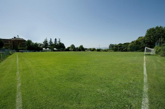 Campo da calcio dell'Hotel