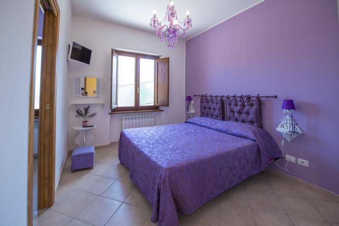 Camera in Casa vacanze nella Tuscia Viterbese