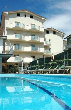Hotel con Piscina a Cervia in Emilia-Romagna