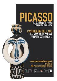 Castiglione del Lago 30 Aprile - 27 Agosto - Pablo Picasso.  La materia e il segno. Ceramica, grafica