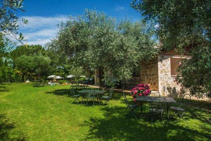 Casale per gruppi vicino Perugia