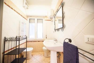 bagno privato in camera casa vacanze al Vaticano