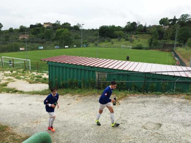 impianto sportivo per ritiri squadre di calcio Assisi