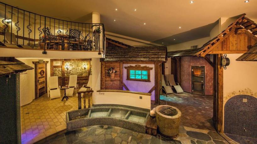 Hotel con sauna + bagno turco+ piscina riscaldata