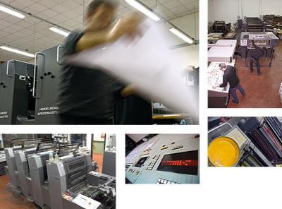 Stampa offset per volantini tipografia umbria